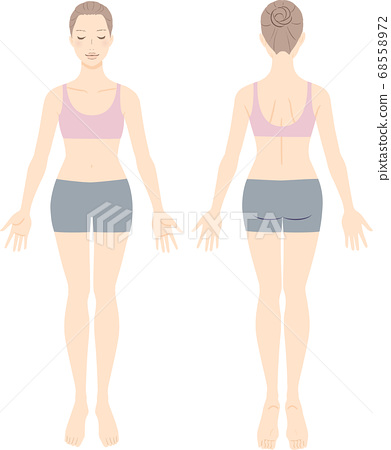 女人全圖為審美觀念的正面和背面 68558972