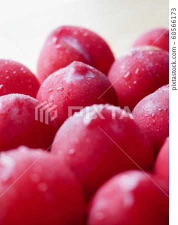 韓國新鮮有機水果李子 68566173