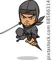 忍者用劍戰鬥 68566314