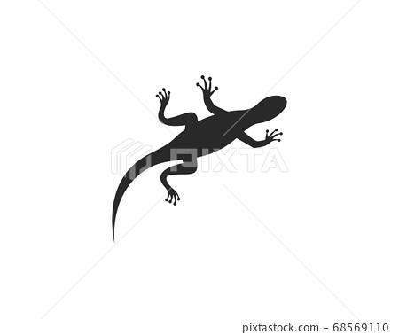 Gecko logo vector 68569110