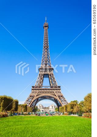 Eiffel Tower in Paris, France 68569590