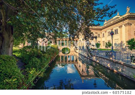 Lazienki Park in Warsaw 68575182