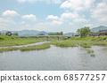 경주 월정교의 여름 풍경 68577257