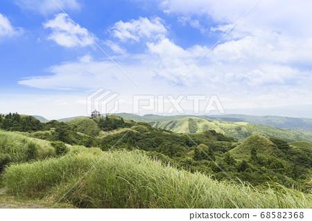 陽明山國家公園七星山登山步道景觀 68582368