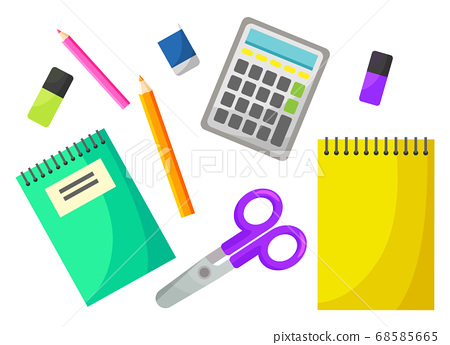 Back to School, Chancellery Object, Office Vector 68585665
