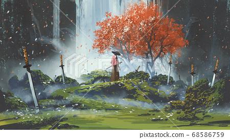 garden of the katana swords 68586759