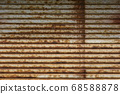 Rusted steel outer wall 68588878