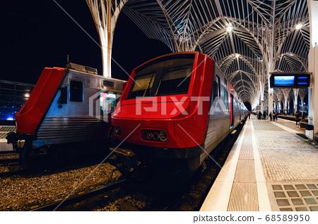 oriente train station in lisbon, portugal 68589950