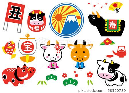 牛年图 68590780