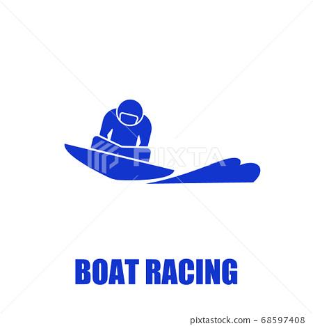 划船比賽圖標 68597408