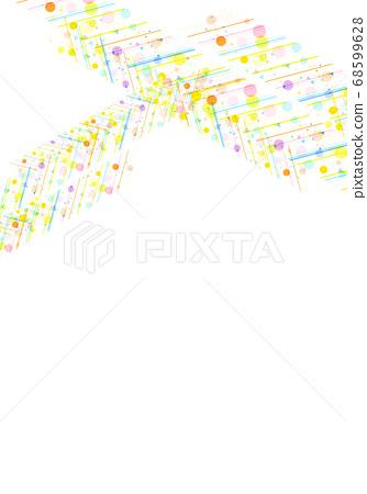 화려한 도트 무늬 질감 68599628