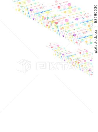 화려한 도트 무늬 질감 68599630