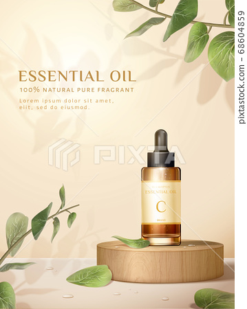 Skin care product ad template 68604859