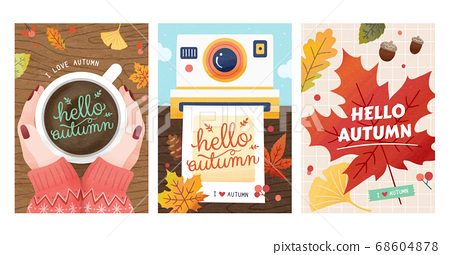 Autumn hygge cover collection 68604878