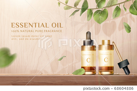 Skin care product ad template 68604886