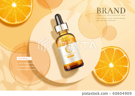 Ad template for beauty product 68604909
