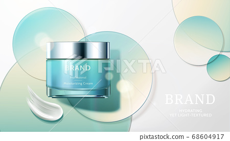 Skin care product ad template 68604917