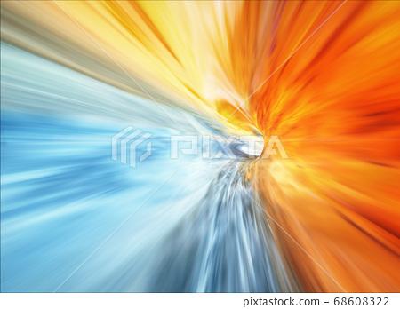 Travel Through A Wormhole, Vortex. Hyperspace 68608322
