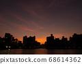 Yanagibashi in the setting sun 68614362