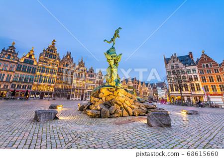 Antwerp, Belgium Cityscape 68615660