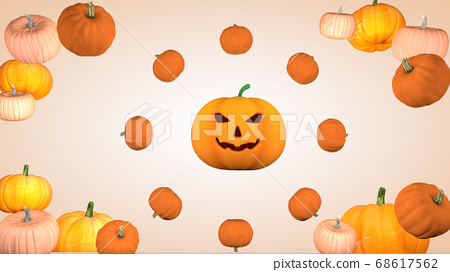 Halloween holiday concept. Background with 68617562