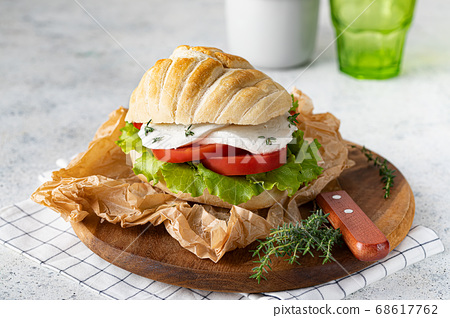 Caprese sandwich 68617762