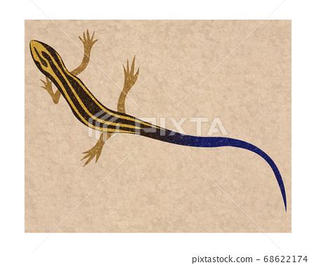 一隻蜥蜴 68622174