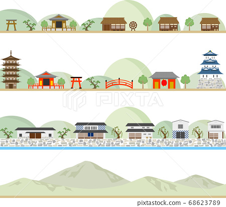 日式城市景觀集 68623789
