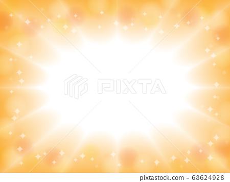 Warm color explosion light background 68624928