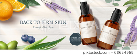Ad banner for beauty product 68624969