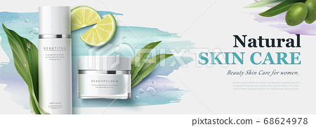 Ad banner for beauty product 68624978