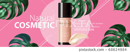 Ad banner for beauty product 68624984