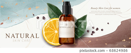 Ad banner for beauty product 68624986