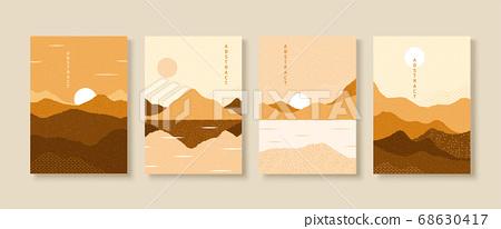 Scenery cover design 68630417