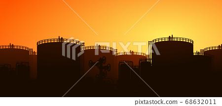 oil tank storage 68632011