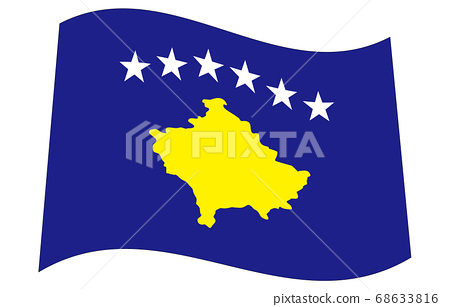 신세계의 국기 2 : 3Ver 파형 코소보 68633816