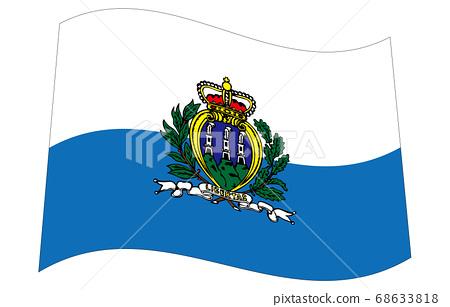신세계의 국기 2 : 3Ver 파형 마리노 68633818
