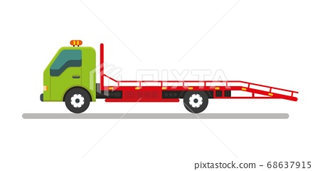 Tow truck service vehicle.Help on road 68637915
