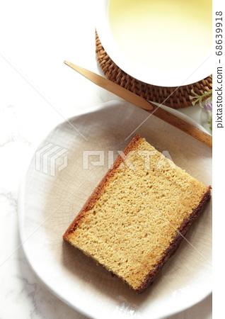紅糖castella和茶 68639918