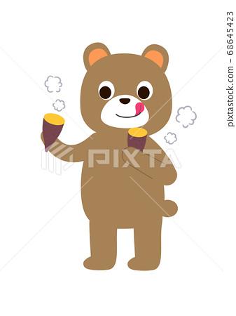 其他熊吃其他烤土豆 68645423