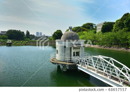 니시 노미야시 니테코 연못 여름 하늘 68657557