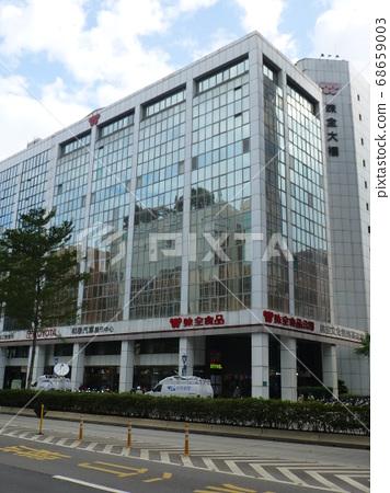 台灣台北-11/14/2014:台北市區的味全公司總部大樓 68659003