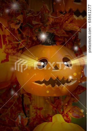 萬聖節,南瓜飾品,ハロウィーン、カボチャの装飾品、Halloween, greeting card, 68661277