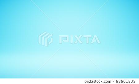 Empty Blank Light Blue Studio Background 68661835