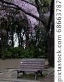 櫻花和長凳 68663787