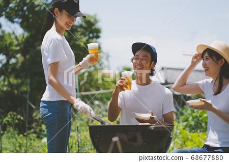 花園燒烤 68677880