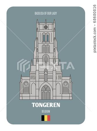 Basilica of Our Lady in Tongeren, Belgium. 68680816