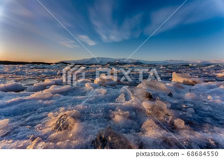 冰島瓦特納約克山脈冰川,Jokulsallon湖 68684550
