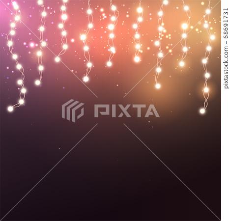 Christmas lights concept 68691731