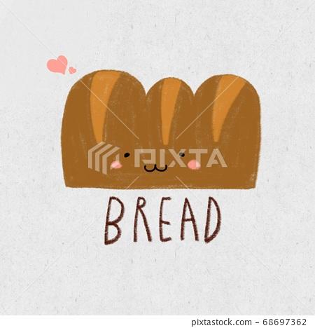 麵包 68697362